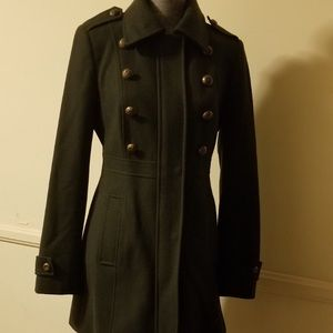 Esprit wool military style coat